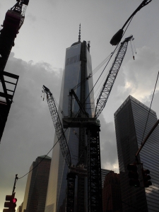 Freedom Tower robot