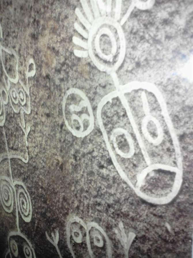 Petroglyph Taino 2013